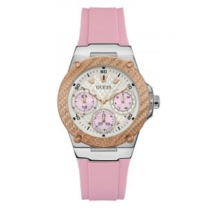 Montre Multifonction Silicone Rose multi - Taille T/U