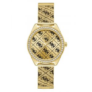 Montre Analogique 4G Logo All Over Or - Taille T/U
