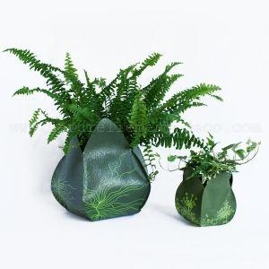 Cache pot écologique Jardipo vert Brindi - Art Terre
