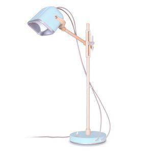 Lampe à poser MOB en bois couleur pastel Swabdesign