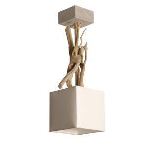Suspension en bois flotté Coc'Art