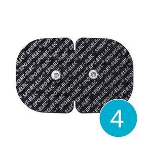 Electrodes adhésives sans fil Sport-Elec 110x71 mm