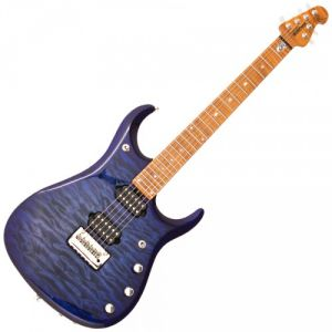 MUSIC MAN JOHN PETRUCCI 6 JP15 LTD BLUEBERRY BURST QUILTED