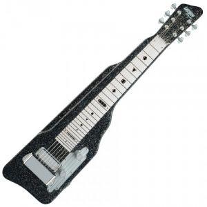 GRETSCH GUITARS G5715 LAP STEEL - BLACK SPARKLE