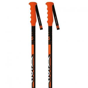 Bâtons de ski Kerma Speed Sl Sr - Black / Orange - Taille 125 cm