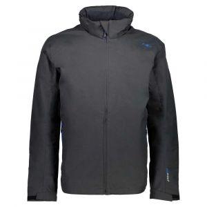 Vestes Cmp Man Fix Hood Jacket XXXL Antracite / Zaffiro - Antracite / Zaffiro - Taille XXXL