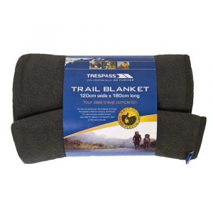Trespass Snuggles 120 X 180cm Blanket One Size Charcoal - Charcoal - Taille One Size