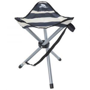 Meubles Trespass Ritchie Folding Tridpod Stool - Navy Stripe - Taille One Size