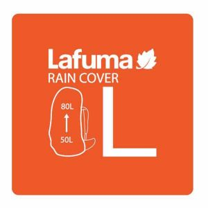 Housse Lafuma Rain Cover L - Orange Com - Taille 50-80 litres