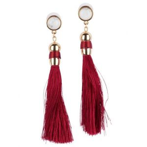 Boucles d'oreilles - Sweet Deluxe - Rouge - Taille -