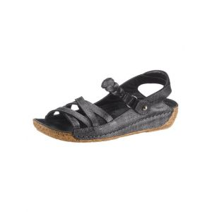 Gemini : sandales avec semelle de marche PU antidérapante aspect liège - Gemini - Noir - Taille 40