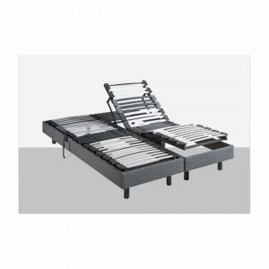 Sommier Relaxation Epeda METALLIC 100 2x90x200