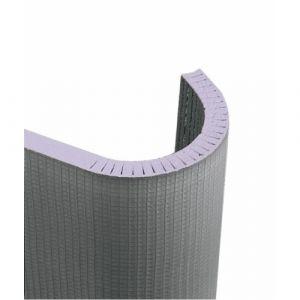 Panneau à carreler cintrable à fentes longitudinales JACKOBOARD Flexo 30mm - JACKON