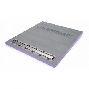 Receveur à carreler écoulement linéaire 100x90 horizontale JACKOBOARD Aqua line Pro - JACKON