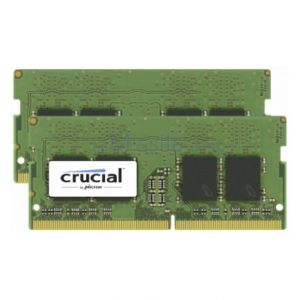 Crucial 32GB DDR4 2400 MT/s Kit 16GBx2 SODIMM 260pin pour Mac