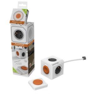 allocacoc Rallonge + kit câble + télécommande Type F blanc