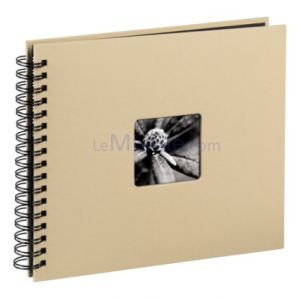 Hama  Fine Art  spirales  taupe 28x24 50 pages noires     113681