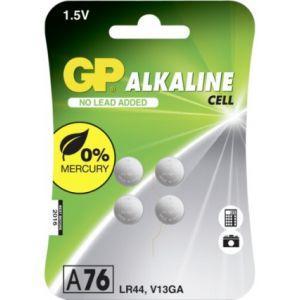 1x4 GP Alkaline LR44  76A 1 5V