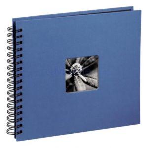 Hama  Fine Art  spirales azur 28x24 50 pages noires     113683