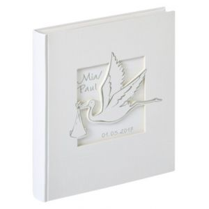 Walther Cigogne          28x30 5 50 pages blanches  Baby    UK201