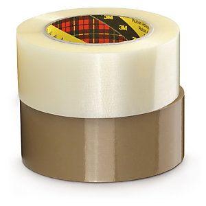 Ruban adhésif Scotch 3M 371 Polypropyl?ne transparent standard, 28 microns 50 mm x 100 m