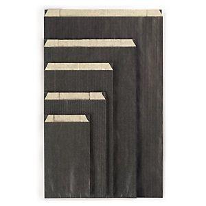 Pochette cadeau kraft couleur noir 18x6x33 cm