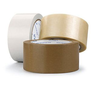 Ruban adhésif PVC havane RAJATAPE Résistant, 32 microns 25 mm x 66 m