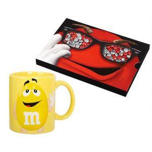 Coffret M&M's + Mug Jaune  drag?es  chocolat  ? personnaliser