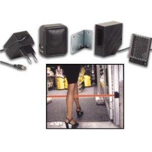 Sonnette électronique détecteur de passage à rayon infrarouge 7m pour entrée de boutique et magasin