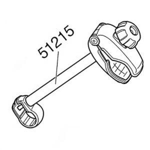 Accessoires Thule Medium Bike Arm 941 Without Lock