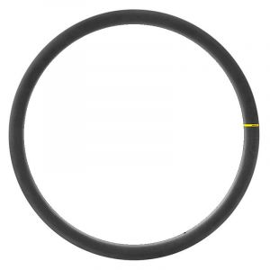 Mavic Cosmic Carbon Sl Tubeless Disc Front 700 - 28 Inches Black - Black - Taille 700 - 28 Pouces