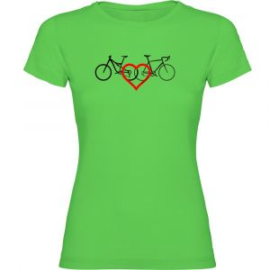 T-shirts Kruskis Love - Light Green - Taille XXL