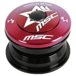 Direction Msc Semi Integrated Steering - Red - Taille 1 1/8