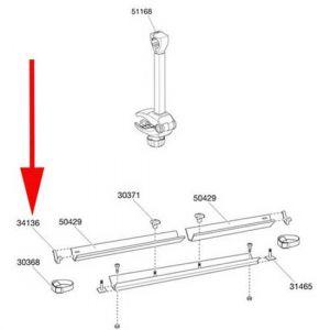 Pièces détachées Thule Plug Jr71 34136 For Backpack 973 - Taille One Size