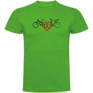 T-shirts Kruskis Love - Green - Taille S