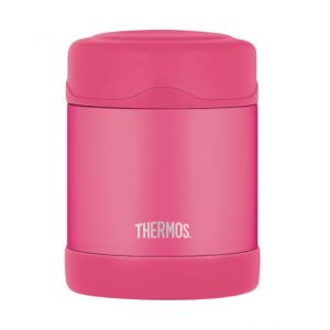 Porte-aliment isotherme 29cl rose - Funtainer - Thermos