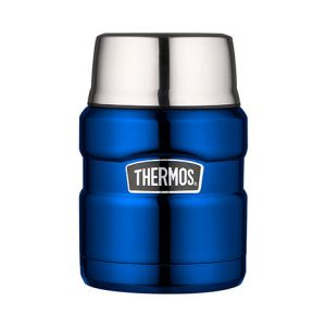 Porte aliment isotherme 47cl bleu - King - Thermos