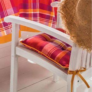 2 Coussins de chaise Saveurs Créoles - 40cm x 40cm