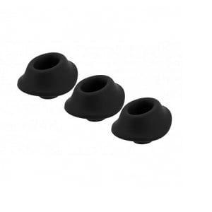 Embouts de Rechange Taille S pour Womanizer Premium et Classic x3 Noir