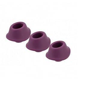 Embouts de Rechange Taille M pour Womanizer Premium et Classic x3 Violet