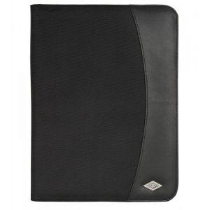 58 5401 - Conférencier Elegance, format A4, simili cuir, noir