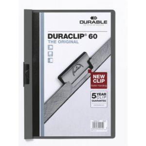 2209-57 - Chemise à clip DURACLIP 60, format A4, gris anthracite