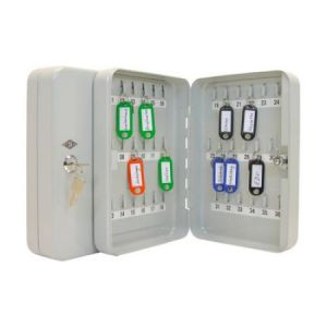 102 53637X - Armoire à clés pour 36 clés, gris-lumière, plate