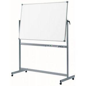 63362-84 - Tableau blanc mobile, réversible, 100x150 cm, coloris gris