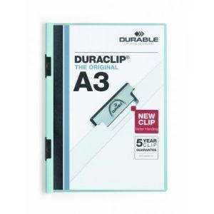 2218-06 - Chemise à clip DURACLIP A3, format A3, bleu