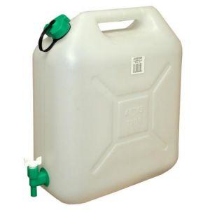 8360035 - Jerricane plastique alimentaire, 10 Litres, avec robinet