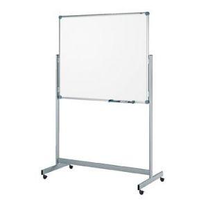 63356-84 - Tableau blanc mobile, non réversible, 100x150 cm, coloris gris