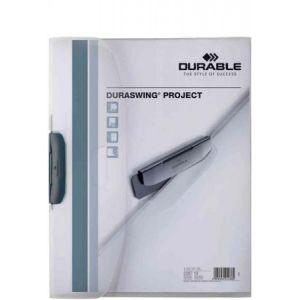 2287-19 - Chemise à clip DURASWING Project, format A4, transparent