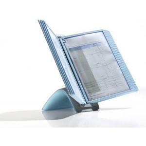 5912-00 - Système de présentation de table SHERPA BACT-O-CLEAN Table 10, 20 vues, coloris bleu clair