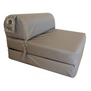 Chauffeuse L. 75 cm 2 IN 1 taupe